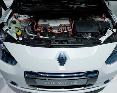 Двигатель Renault Fluence Z.E.