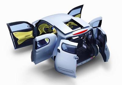 Электромобиль Nissan Townpod Concept