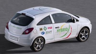 Opel Corsa Hybrid Schaeffler Group
