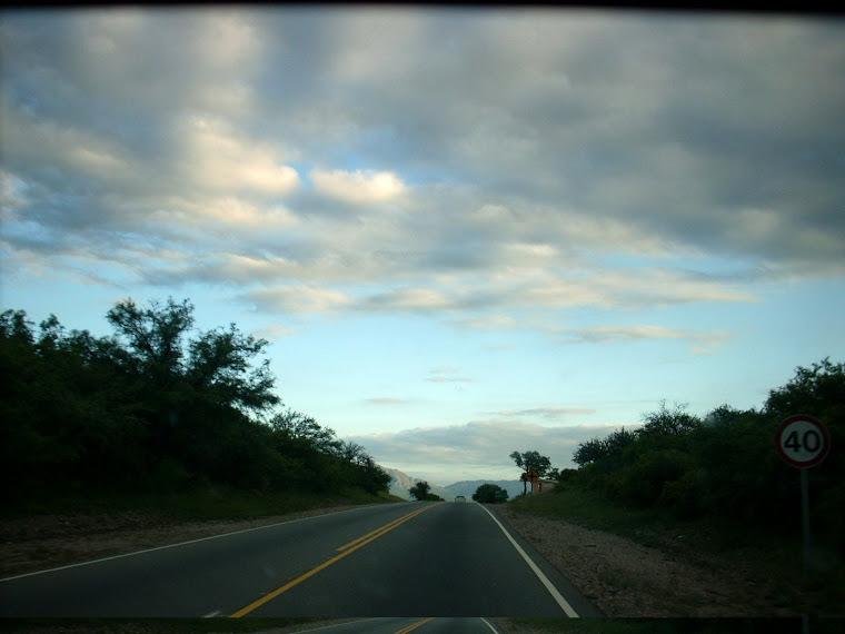 Volviendo de San Marcos, yendo hacia Capilla del Monte