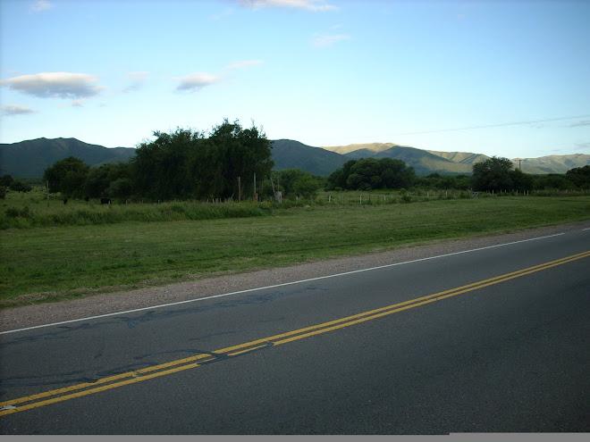Ruta entre S.M.Sierras y Capilla del Monte