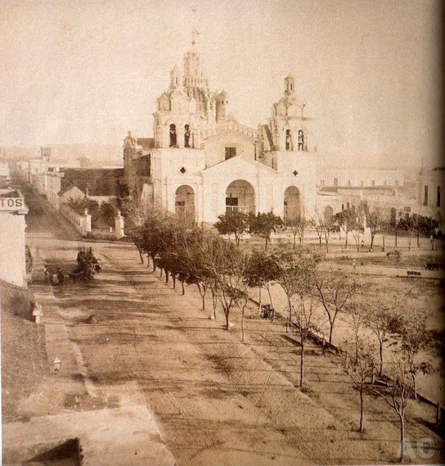 Plaza, Catedral y Cabildo de Cordoba (1852)