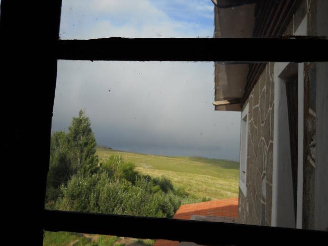 Vista desde una de sus ventanas
