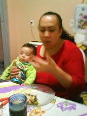 Minha Filha Ana Paula e Meu neto Marcos Vinícios