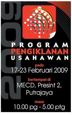 Program Pengiklanan Usahawan 2009