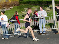Ted at Phila marathon