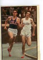 Jim Ryun, Marty Liquori 1971 Dream Mile at Penn