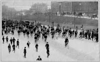 Oldest known picture (1904) of the Boston Marathon