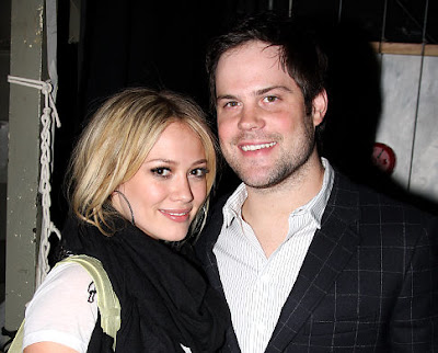 Hilary Duff and Mike Comrie - Hilary Duff Engaged