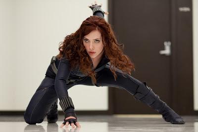 Scarlett Johansson breast size picture | Scarlett Johansson Iron Man 2