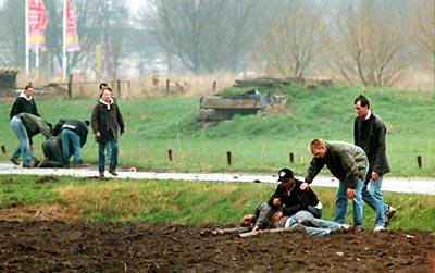 Carlo Picornie, líder de la afición del Ajax, murió en un enfrentamiento con el Feyenoord
