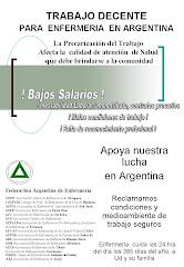 TRABAJO DECENTE PARA ENFERMERIA EN ARGENTINA