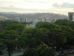 Planta de concreto ilegal en el Parque Miranda