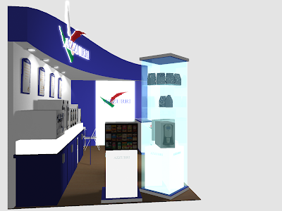 Trade Show Exhibit Booth Design - Azzurri