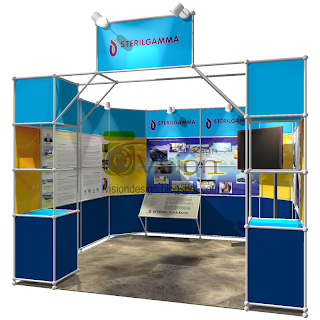 Uniform System Exhibition Booth Design