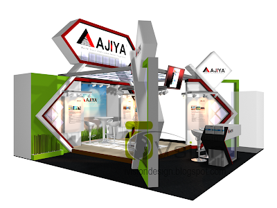 Exhibition Stand Booth Design: AJIYA