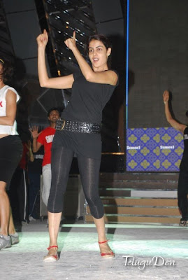Actresses :Genelia on Dance floor