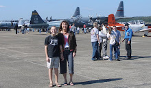 me and mom at the air show