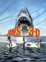Jaws 3-D film poster