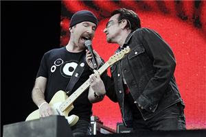 Bono in 3-D