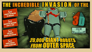 The Incredible Invasion 3-D poster