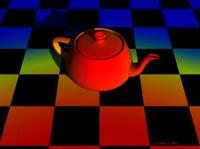 A Chromadepth image