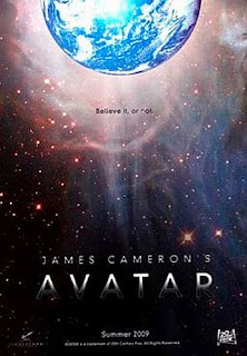 Avatar 3-D Poster