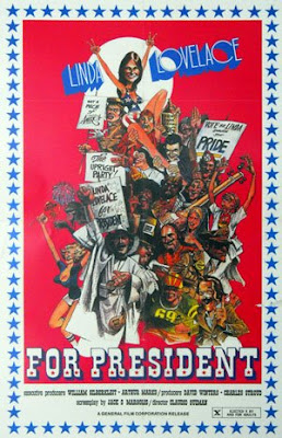 linda lovelace for president movie poster