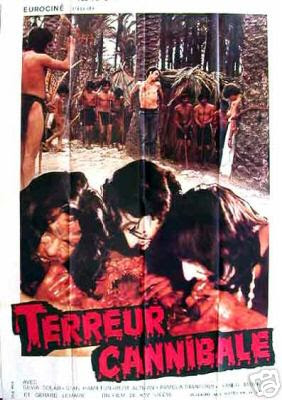cannibal terror movie poster
