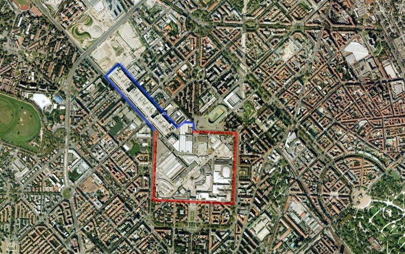 milano, citylife, 3 grattacieli, mappa
