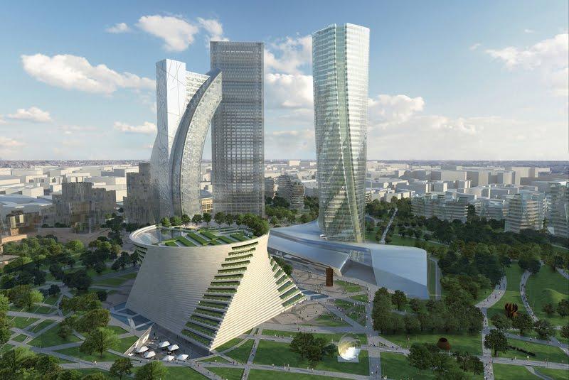 milano progetto city life 3 grattacieli per il 2015
