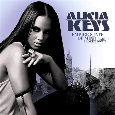 alicia keys, empire state of mind, part 2, broken down, cover