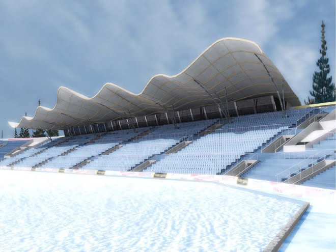 sochi 2014, biathlon complex