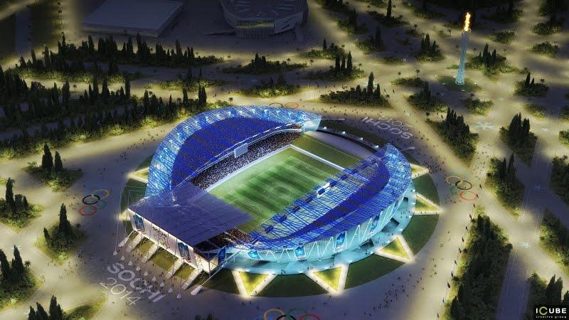 sochi 2014, olympic stadium