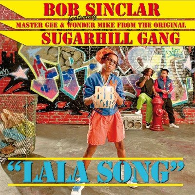 bob sinclar, lala song, cd cover