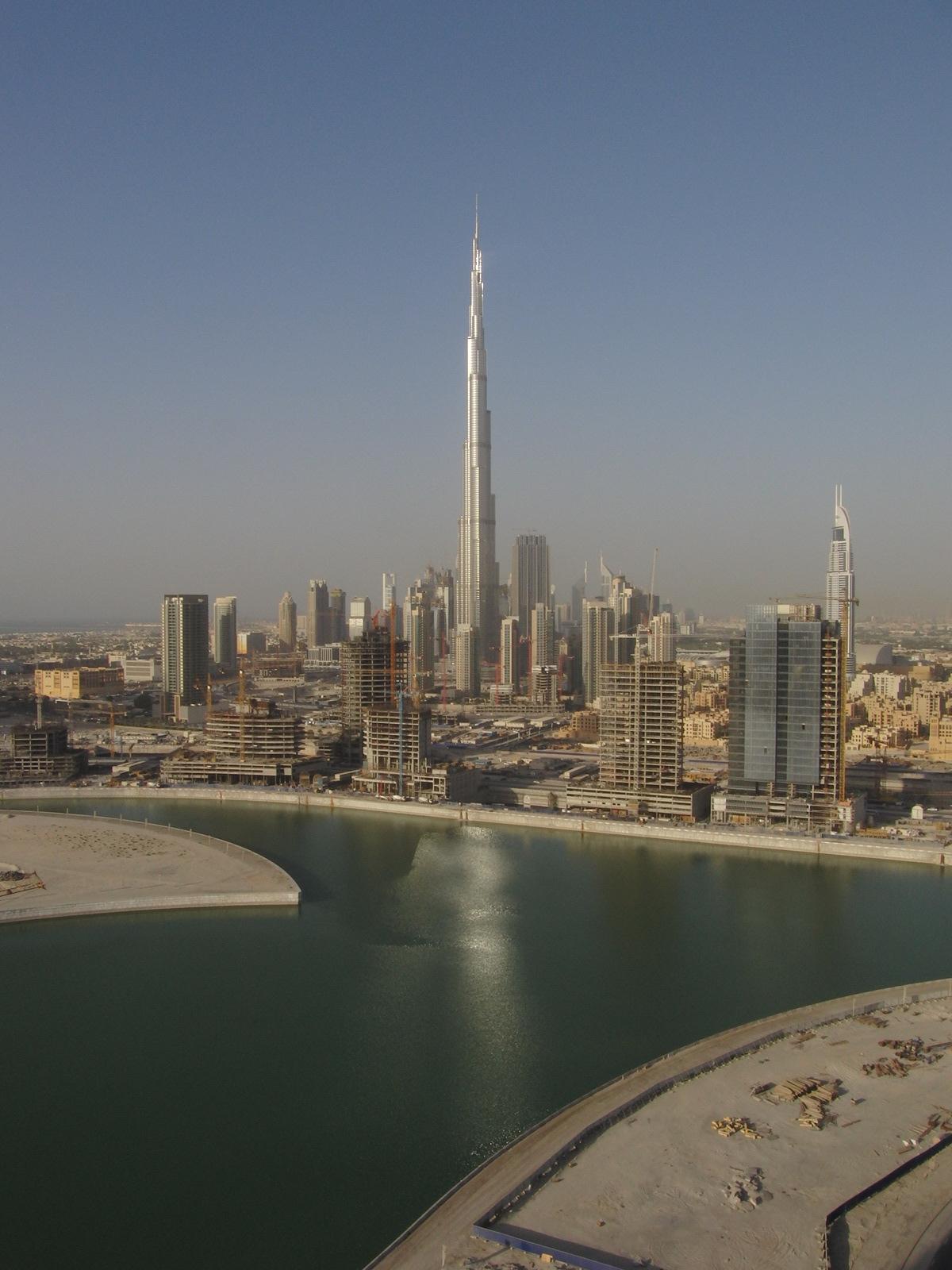 Burj dubai 800 metri sopra la crisi - Dubai grattacielo piu alto ...