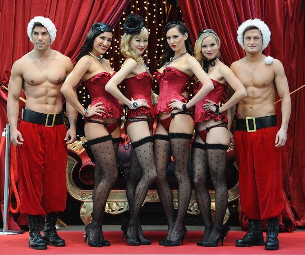 myla, lingerie, christmas