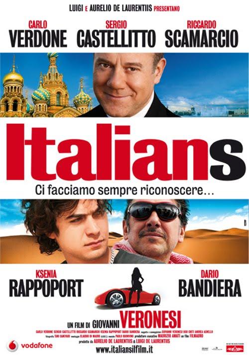italians, film, locandina