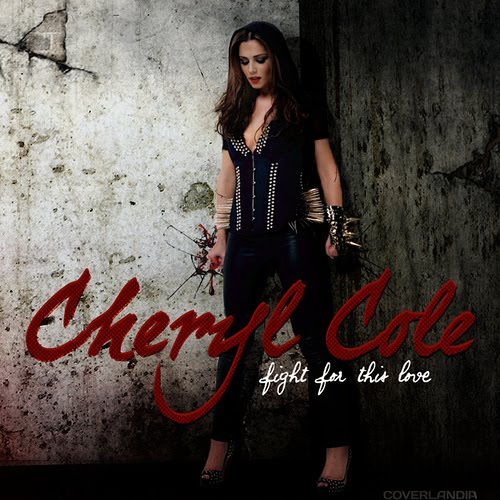 cheryl cole, fight for this love, single cover, copertina