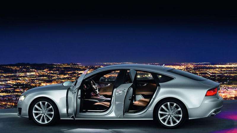 audi a7 sportback vs bmw gran coup concept serie 8 2012. Black Bedroom Furniture Sets. Home Design Ideas