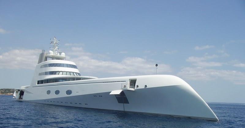 a yacht by philippe starck la barca di andrey melnichenko
