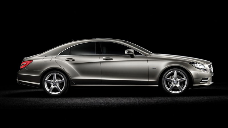 nuova mercedes cls, 2010