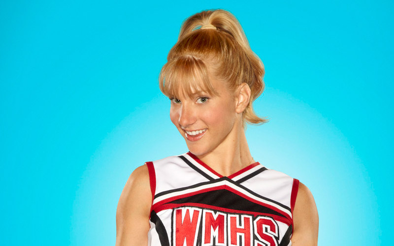 glee, heather morris, brittany