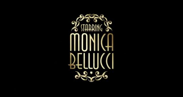 pubblicità martini gold, monica bellucci