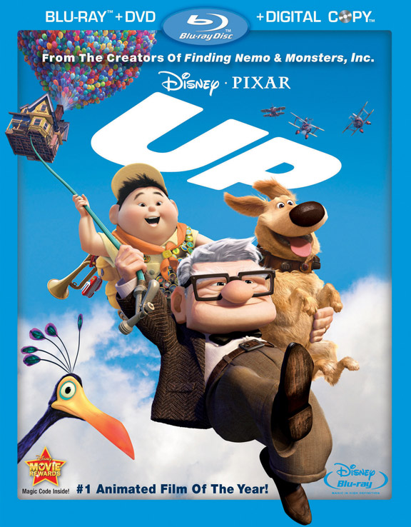 pixar up, bluray
