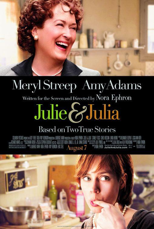 julie & julia, locandina, poster