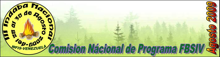 COMISION NACIONAL DE PROGRAMA FBSIV