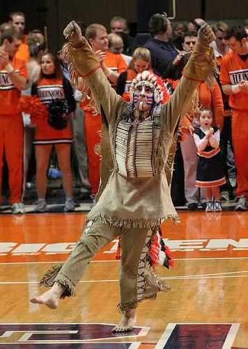 the history of chief illiniwek as a university of illinois mascot and racist stereotype Return the lakota regalia worn by chief illiniwek,  put the new university of illinois mascot name  assaulting white history from the super-racist.