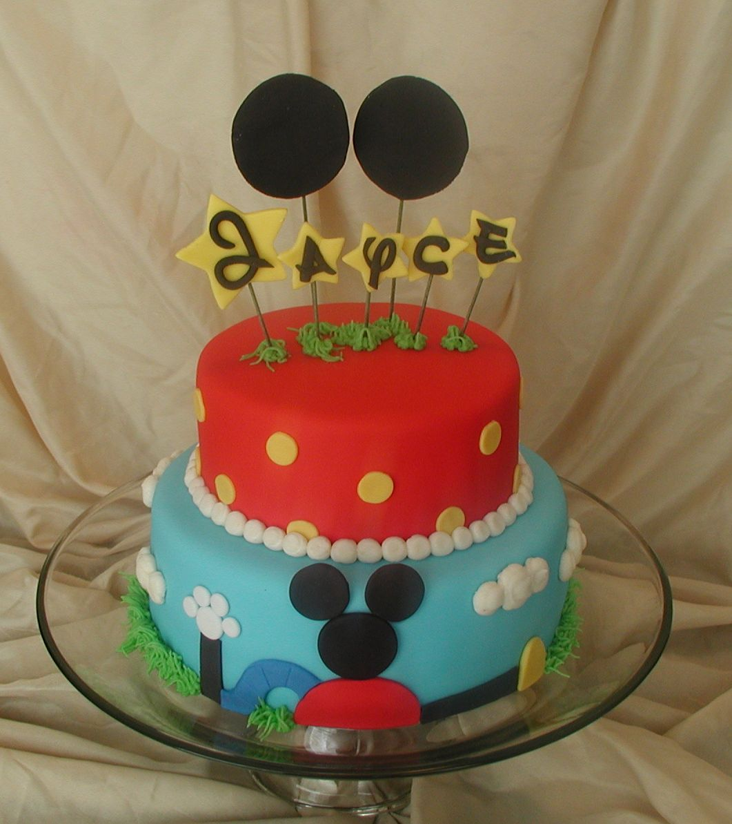 Peggy Does Cake Jayces Mickey Mouse Clubhouse Cake click photos