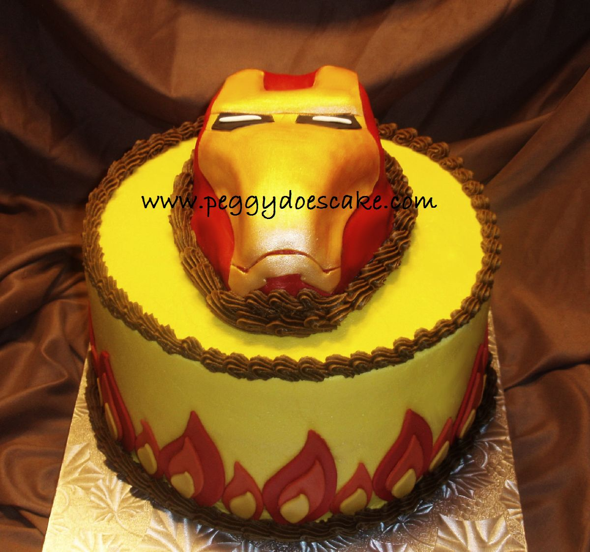 Peggy Does Cake I Am Iron Man Not Really Im Just Cake Click